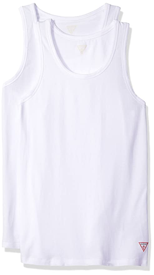 105448ad69dce GUESS Men s Logo Tank Top 2 Pack at Amazon Men s Clothing store