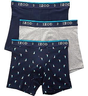 d4d9794ac8d3 IZOD Men's Cotton Boxer Briefs - 3 Pack (181PB11) at Amazon Men's ...
