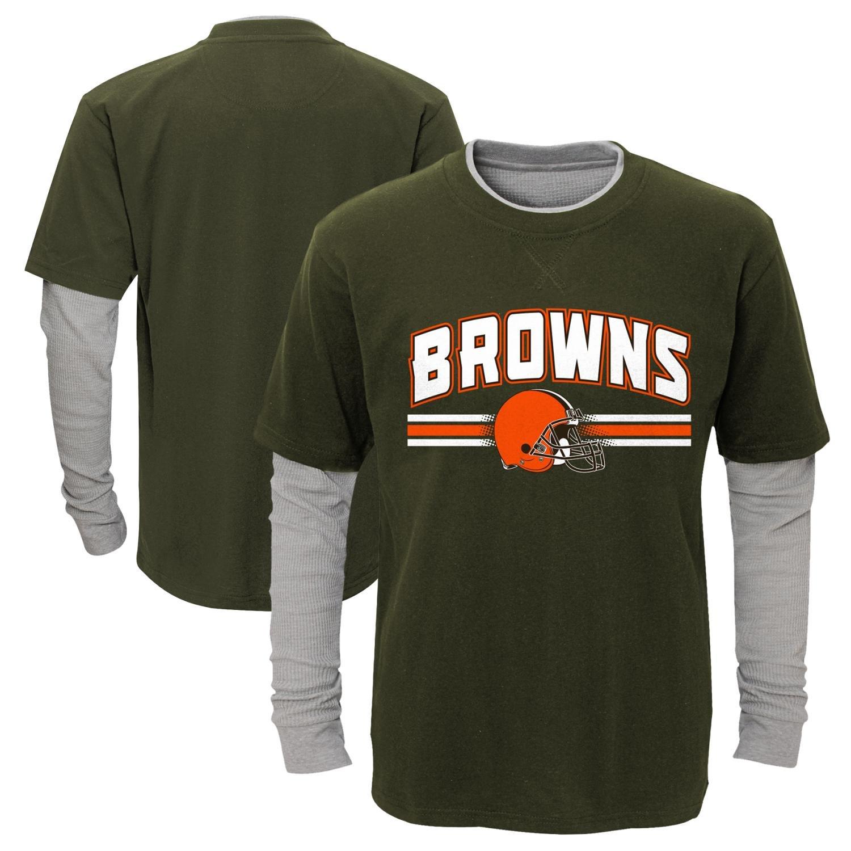 沸騰ブラドン Cleveland Browns Youth NFL「Bleachers
