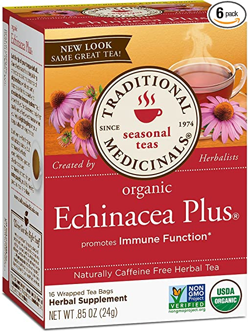 Traditional Medicinals Organic Echinacea Plus Seasonal Tea
