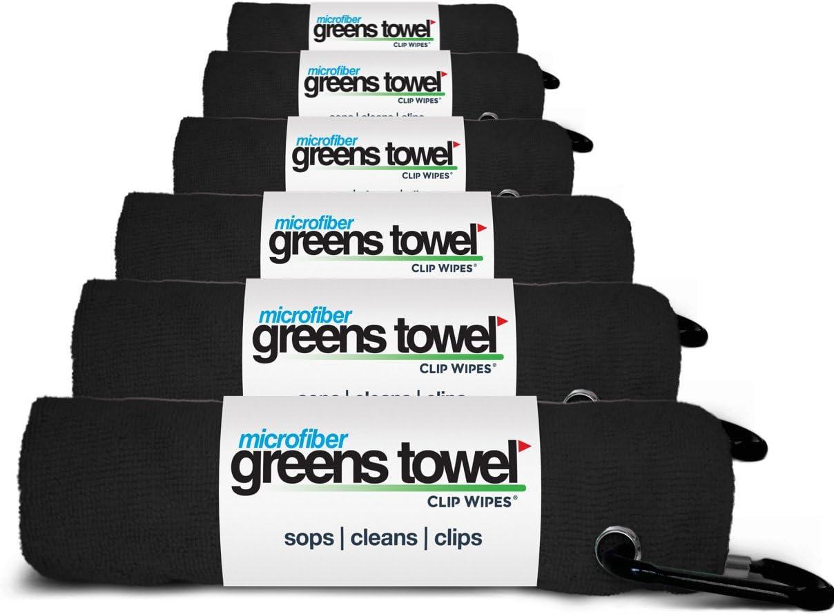 Convenient disc Golf Towel