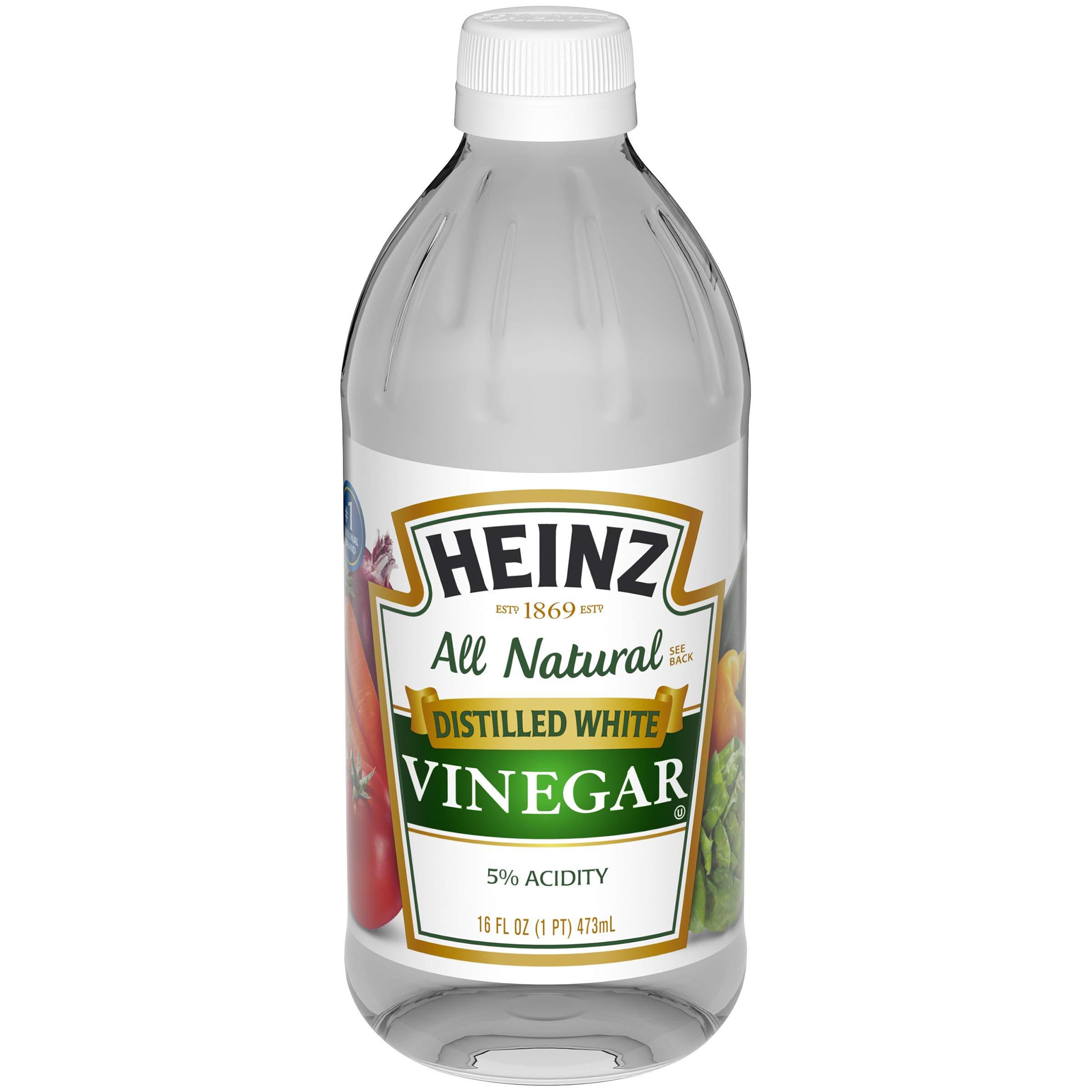 Heinz Distilled White Vinegar, 12 - 16 fl oz Bottles