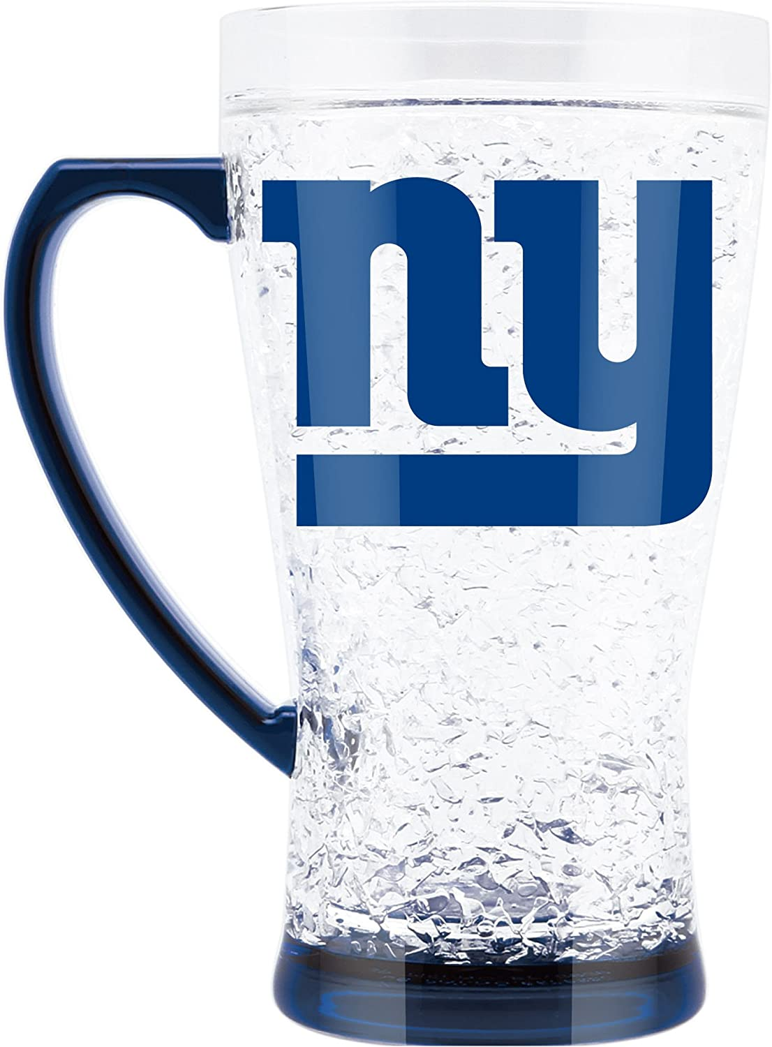 NFL New York Giants 16oz Crystal Freezer Flared Mug