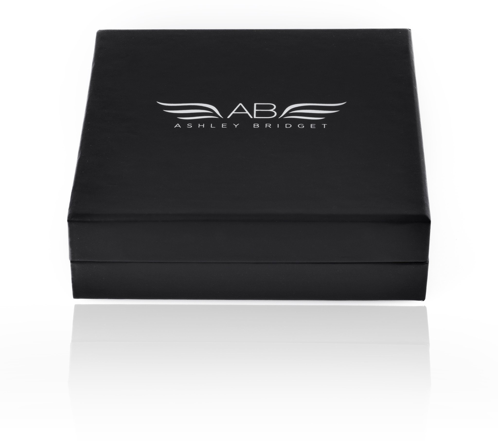 Ashley Bridget Hair Bracelet - Elegant Fashion Jewelry with Elastic Holder Bangle and Gift Box (Silver Plated)