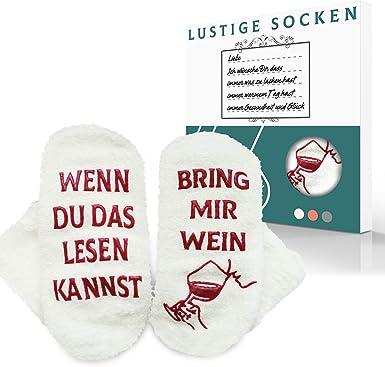 Izoel Witzige Socken Mit Geschenkbox Für Herr Frau Freundin