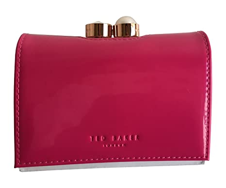 2c56ce26d6907e Ted Baker Alix Pearl Bobble Patent Matinee Small Purse Fuchsia   Amazon.co.uk  Clothing