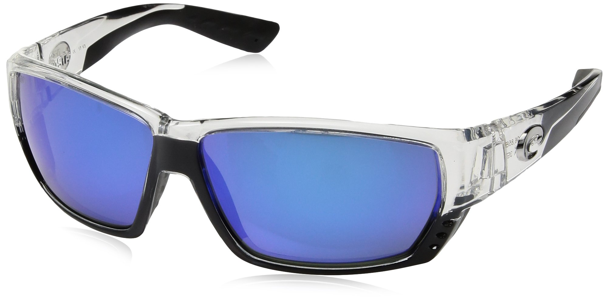 Costa del Mar Unisex-Adult Tuna Alley TA 25 OBMGLP Polarized Iridium Wrap Sunglasses by Costa Del Mar