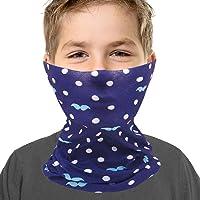 Kids Youth Neck Gaiter Fishing Sun Mask - Junior UV Protection Face Tube Mask