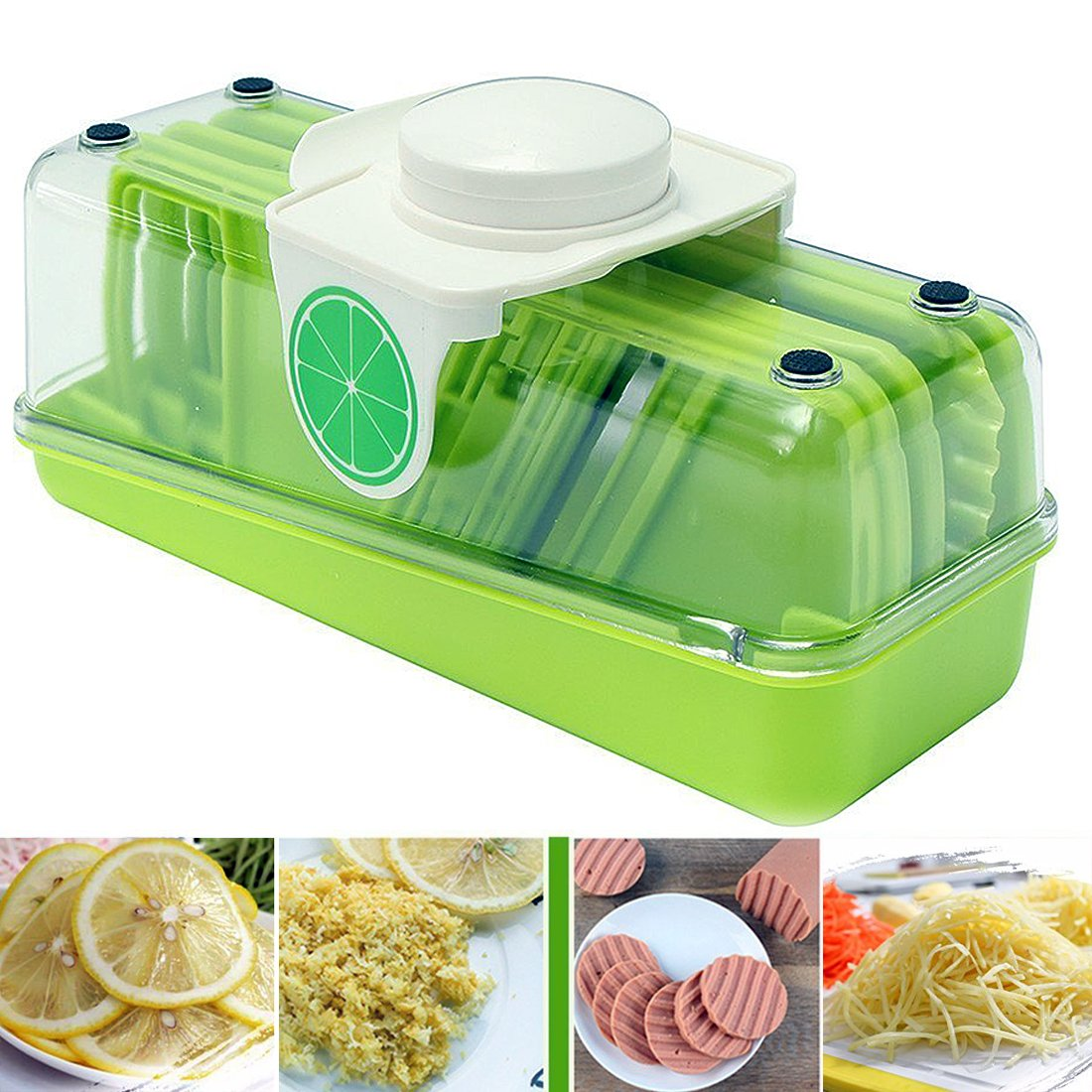 Multi-function Kitchen Tools Vegetable Carrot Cucumber Slicer Grater Wave Cutter