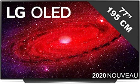 LG TV OLED 77'' OLED77CX6LA IA 4K UHD HDR Smart TV