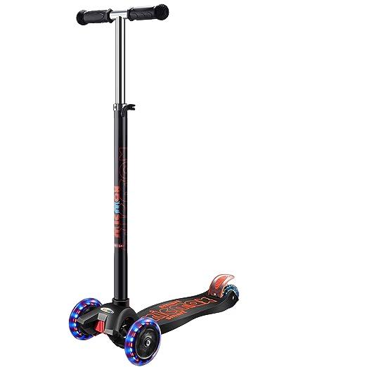 Amazon.com: Banne Scooter para niños 3 ruedas altura ...