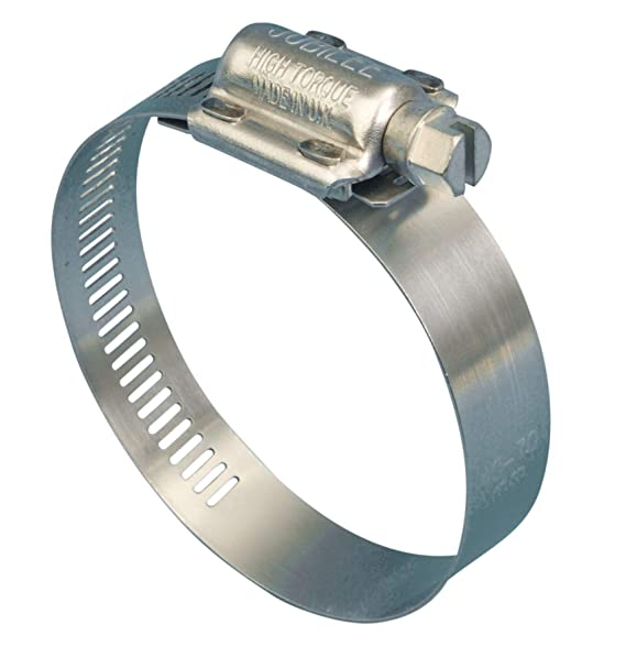 JCS Marine Grade Stainless Steel Hose clamps Clips  Pipe Clamps Made in UK