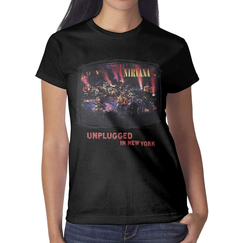 Beautiful Tshirts Funny Nirv Ana Mtv Unplugged In New York Short Sleeve 3913