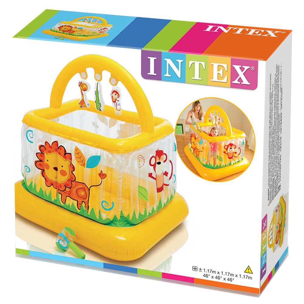 Intex 48473NP 117 x 117 x 117 cm Gimnasio hinchable para bebe