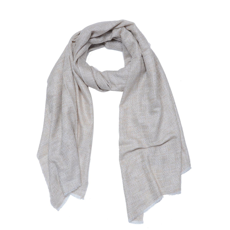 Cashmina House zigzag classic scarf | Cashmere Pashmina | 100% Authentic Hand-Combed Luxurious, Softest & Warmest Scarves | Beautifully Crafted & Stylish Finish