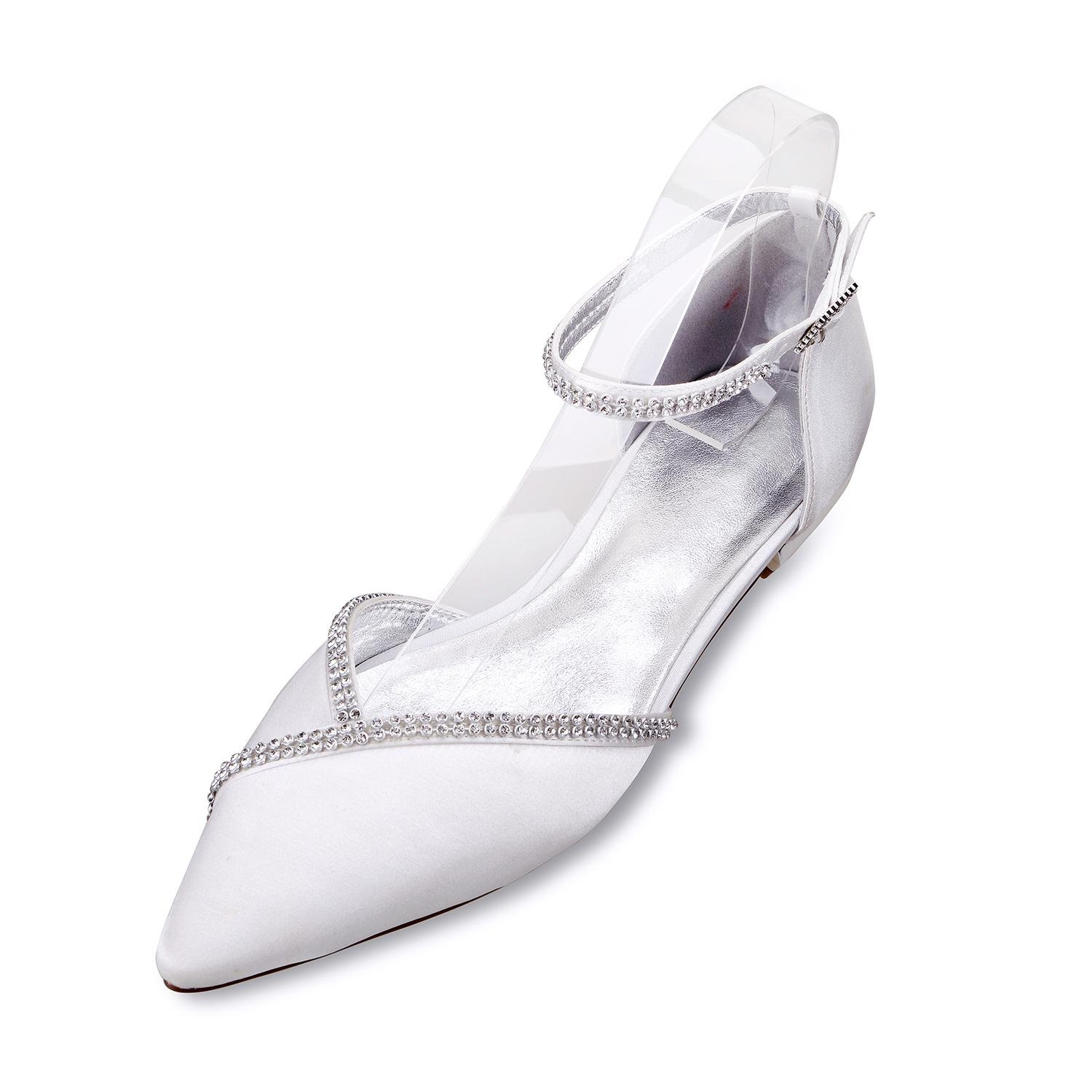 Elobaby Frauen Hochzeitsschuhe 5047-1 Prom Party Tanzschuhe Outer # & Closed Toe Comfort # Outer Champagne 3e432d