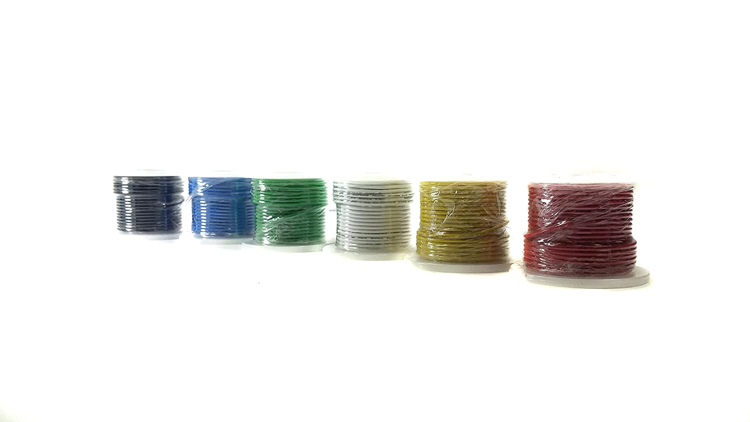 Hook-Up Wire Kit 22G Stranded Wire, 100 ft. Spools - - Amazon.com
