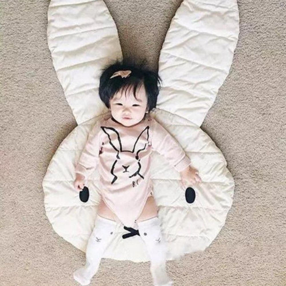 ink2055 Lovely Rabbit Crawling Play Mat Carpet Kids Room Game Pad Home Decoration by ink2055 (Image #2)