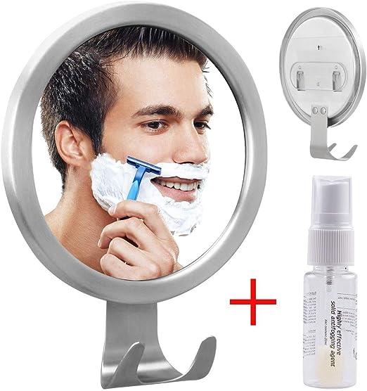 Globalink Ohne Bohren Antibeschlag Kosmetikspiegel Rasierspiegel