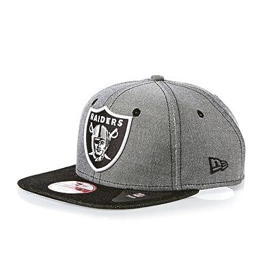 Oakland Raiders NFL Gris Denim Oxford New Era 9Fifty Fit Original ...