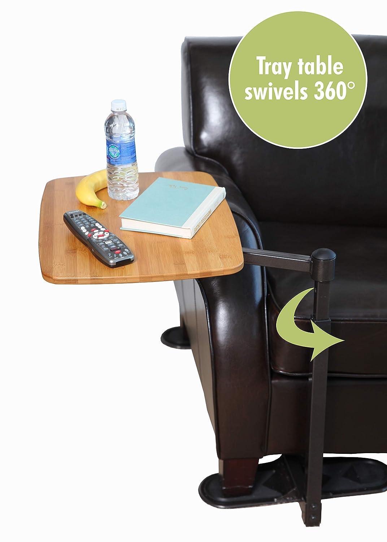 Amazon.com: Able Life, mesa con charola deslizante universal ...