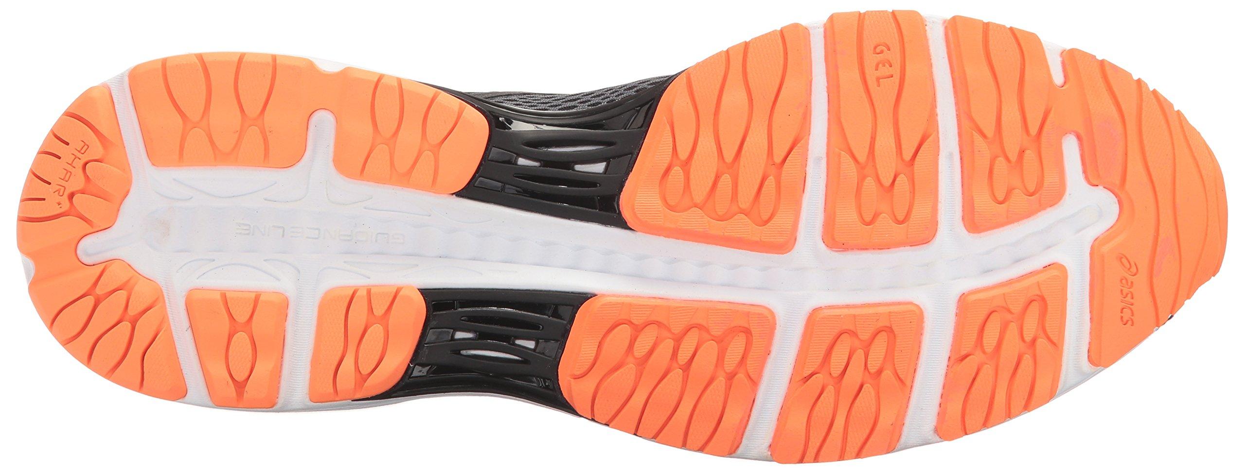 ASICS Mens Gel-Cumulus 19 Running Shoe, Carbon/Black/Hot Orange, 6.5 Medium US by ASICS (Image #3)