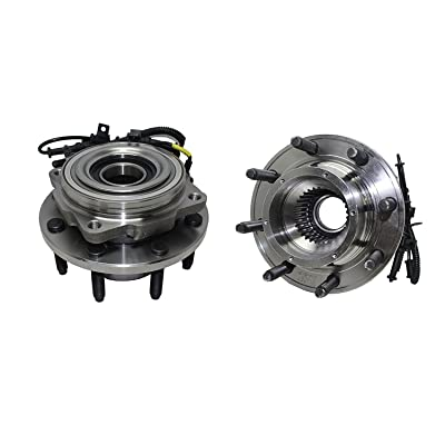 Detroit Axle 515081 Brand New (Both) Front Wheel Hub and Bearing Assembly 2005 2006 2007 2008 2009 2010 Ford F-250 F-350 F-450 F-550 SUPER DUTY SINGLE REAR WHEEL 4WD 8 Lug W/ABS: Automotive