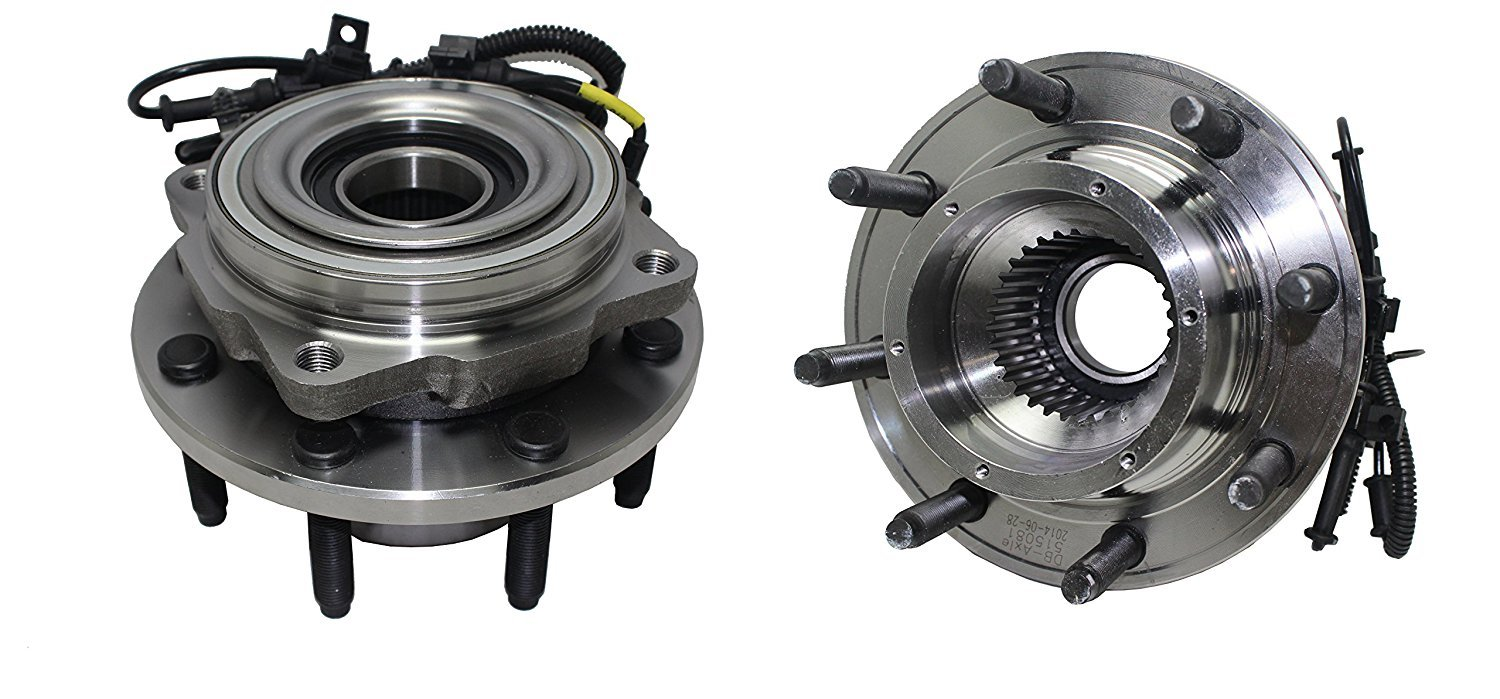 2005-2010 Ford F-350//450//550 SINGLE REAR WHEEL 4WD 8 Lug W//ABS Brand New SINGLE REAR WHEEL Both Front Wheel Hub and Bearing Assembly fits 2005-2010 Ford F-250 4WD - Detroit Axle