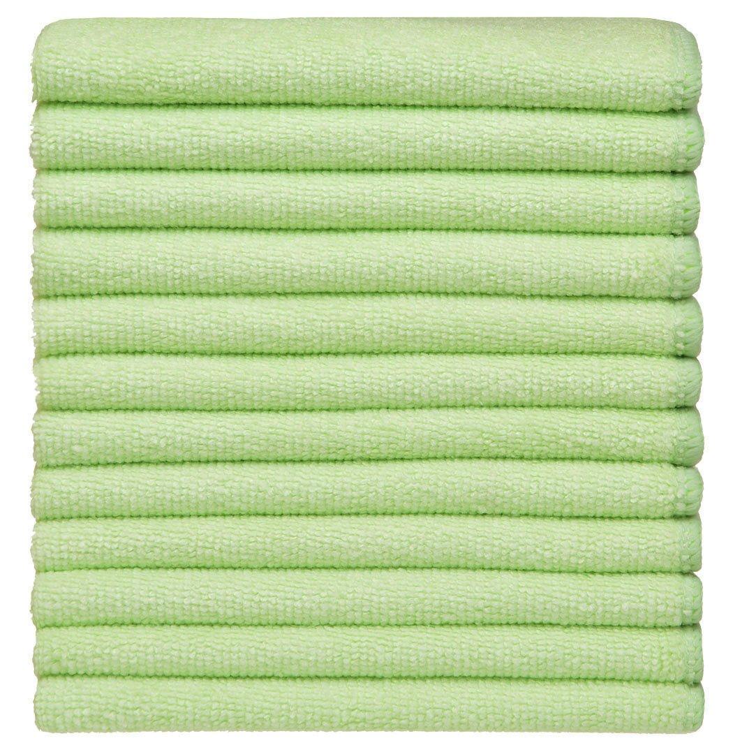 SINLAND Paño de microfibra para limpieza,toallas de cocina,paños de cocina (verde