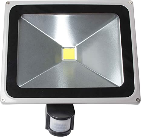 lineteckled® – dl-sp30 – Proyector LED 30 W con sensor de ...