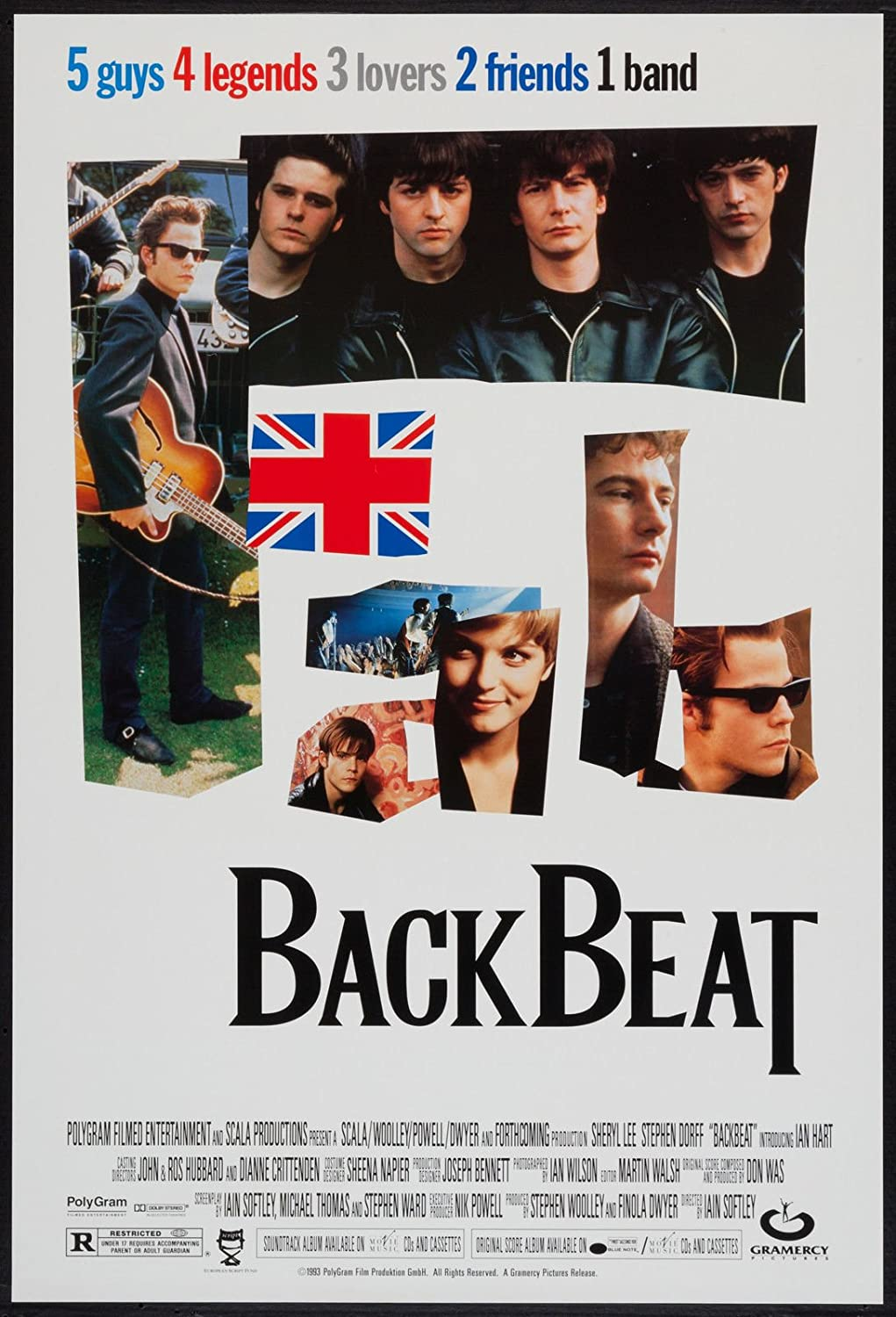 BACKBEAT - 27X40 D/S Original Movie Poster One Sheet 1993 The Beatles at Amazons Entertainment Collectibles Store