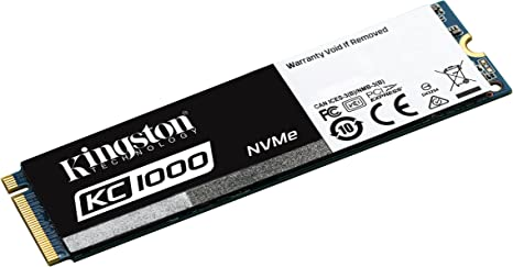 Kingston KC1000 - SSD NVMe PCIe de 240 GB, Gen2 x4 (M.2 2280 ...