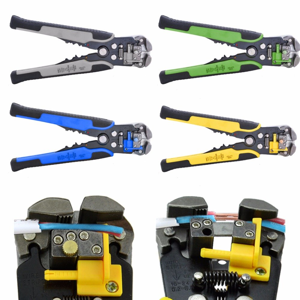 Wire Stripper Multi Tool Alicate Tools Cable Pliers Crimping Pliers Ferramentas Hand Tools alicate descascador deing Green - - Amazon.com