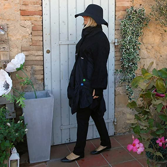 Neslay Coklico Manteau Doudoune grande taille noir