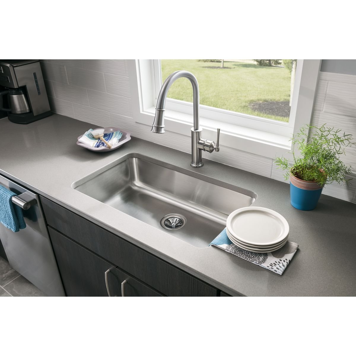 Elkay Kitchen Faucet Parts Elkay Lkec2031ls Explore Pull Down Kitchen Faucet Touch On