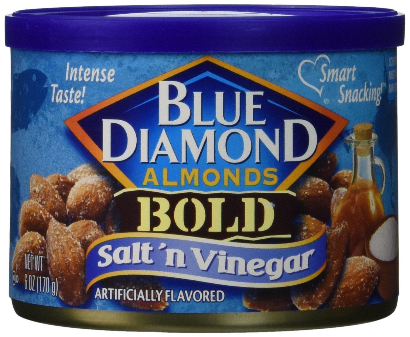Blue Diamond Almonds Salt N Vinegar, 3 Pack