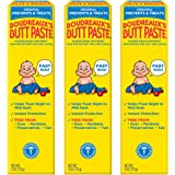Original Boudreaux's Butt Paste Diaper Rash Ointment, 4 Oz, 3 Pack