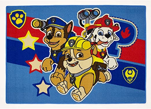Alfombra niño La Pat Patrulla Canina 133 x 95 cm Disney Símbolos ...