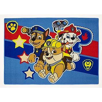 Alfombra niño La Pat Patrulla Canina 133 x 95 cm Disney ...