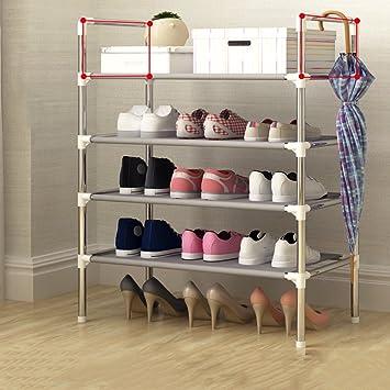DW&HX Closet Zapatos,Multicapa Asamblea Estante del Zapato Multifunción Gabinetes Caja Estantes del Zapato para