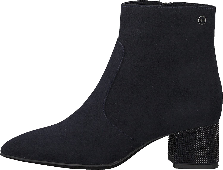Tamaris 1-25319-21 Ankle Bottes Femmes Bleu