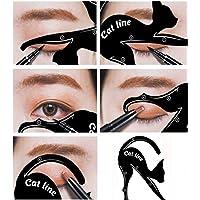Eyeliner Cat szablon do konturowania cieni do powiek (zestaw 2 szt.) do czystego smokey Eyes i Cateyes
