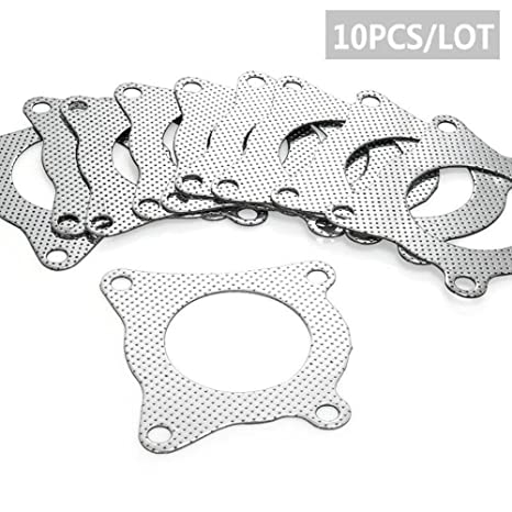 Amazon.com: 10pcs for Seat Leon Turbo Outlet Downpipe Exhaust Gasket 4 Bolt for For Audi A1 A3 A4 A5 TT TFSI: Automotive
