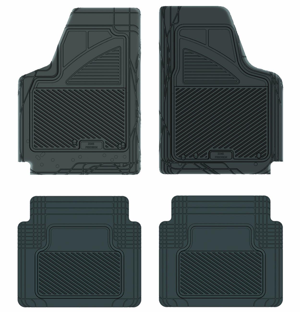 Koolatron Pants Saver Custom Fit 4 Piece All Weather Car Mat for Select Chevrolet Impala Models Black