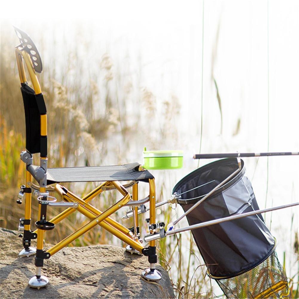 Fischen Tasche Stuhl, flach aus Karpfen Fischen Verstellbarer Sessel