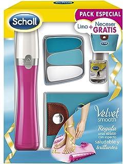 Scholl Velvet Smooth Lima Electrónica de Uñas Rosa