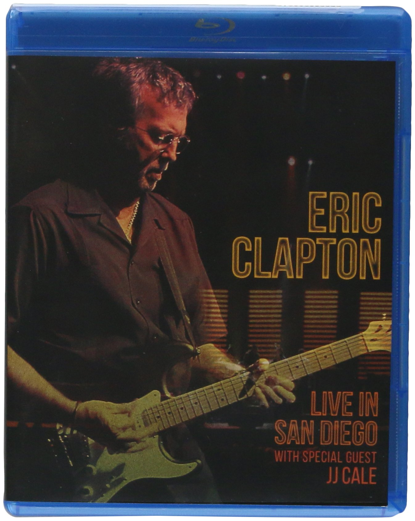 Blu-ray : Eric Clapton - Live In San Diego (With Special Guest JJ Cale) (Blu-ray)