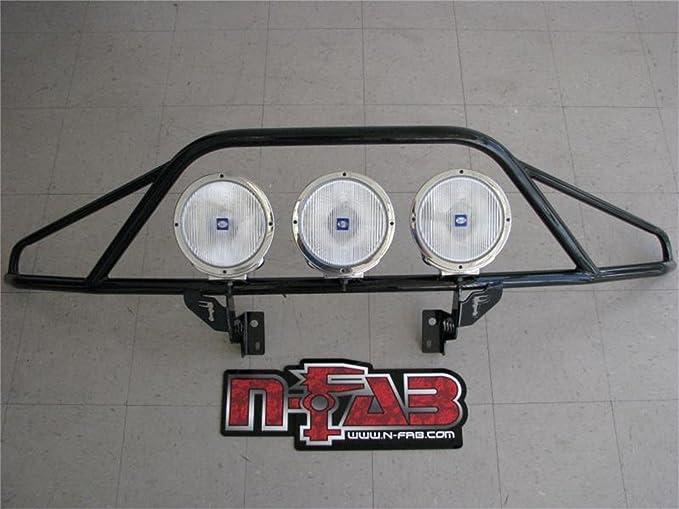 N-Fab D0430OR Gloss Blk O.R Pre-Runner Light Bar for 04-18 Dodge Ram 2500//3500