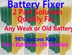 Battery Restoration for Deep Cycle Golf Carts