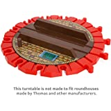 14-ways Large Turntable for Wooden Railway By Orbrium Toys